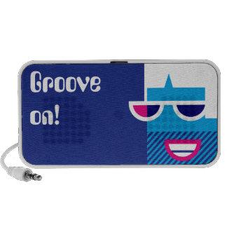 Groovy Guy Notebook Speaker