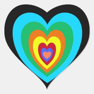 Groovy Hart Sticker Heart Sticker