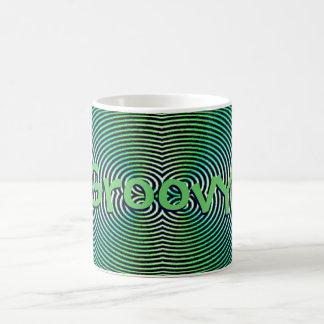 Groovy Hypnotic Basic White Mug