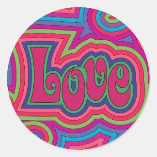 Groovy Love Sticker
