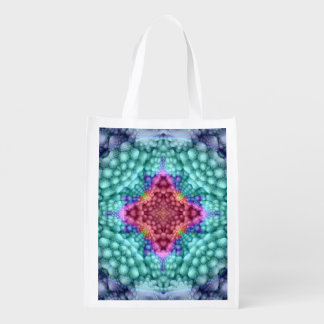 Groovy Man Colorful Reusable Bags Market Totes