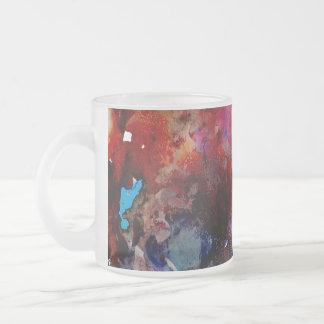 Groovy Mood Frosted Glass Coffee Mug