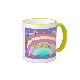 Groovy Coffee Mugs
