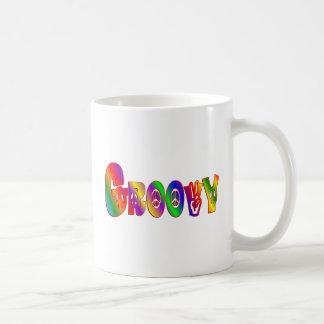 GROOVY COFFEE MUG