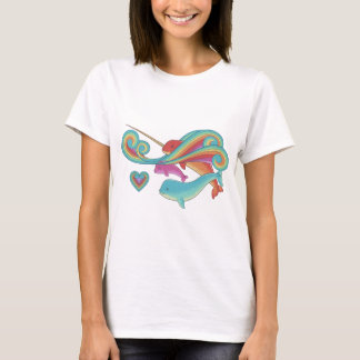 Groovy Narwhal Family T-Shirt