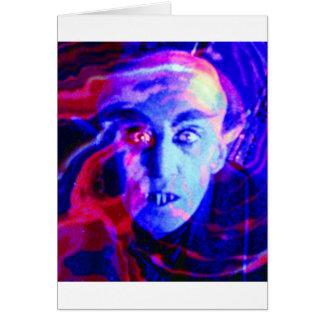 Groovy Nosferatu Card