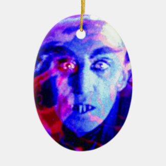 Groovy Nosferatu Christmas Ornament