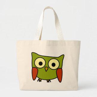 Groovy Owl Jumbo Tote Bag
