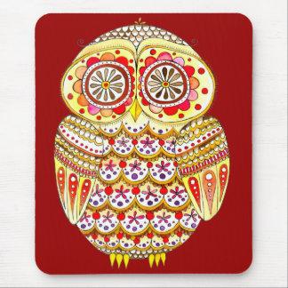 Groovy Owl Mousepad