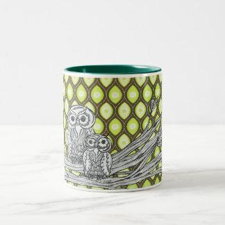 Groovy Owls Mug