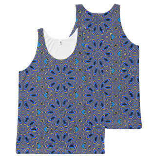 Groovy Pattern, Man All-Over Print Tank Top