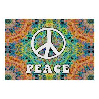 Groovy Peace Poster