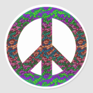 Groovy Peace Stickers