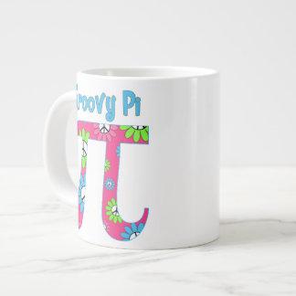 Groovy Pi Jumbo Mug