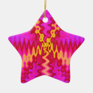 groovy pink christmas ornament