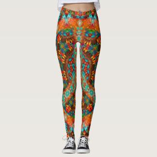 Groovy psychedelic leggings