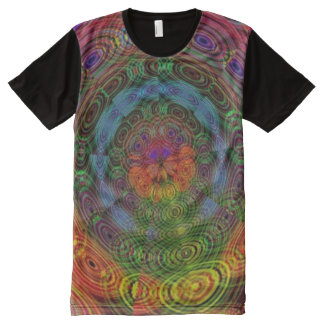 Groovy psychedelic t shirt