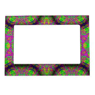 groovy purple green magnetic frames