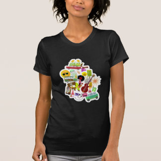 Groovy Retro Collage T-Shirt