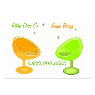 Groovy Retro Designer Business Card