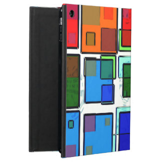 Groovy Retro Geometric Squares Case For iPad Air