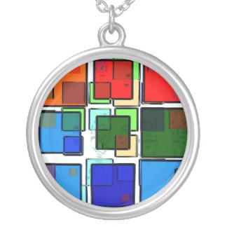 Groovy Retro Geometric Squares Jewelry