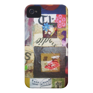 Groovy rock collage blackberry case