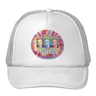 Groovy Ron Paul for President Trucker Hat