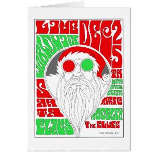 Groovy Santa Card