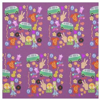 Groovy Sixties Mega Pattern Fabric
