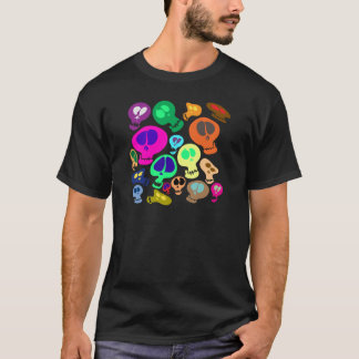 Groovy Skulls T-Shirt