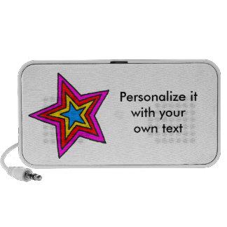 Groovy Star Portable Speaker