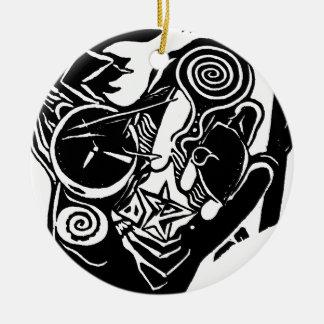 Groovy Street Christmas Ornament