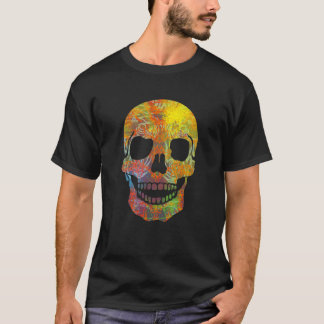 Groovy Tattooed Skull T-Shirt