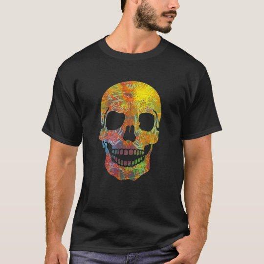 Groovy Tattooed Skull T-Shirt