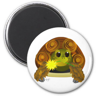 Groovy Tortoise 6 Cm Round Magnet