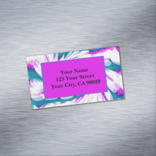 Pink Tie Dye Business Cards Zazzle Uk