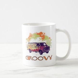 Groovy Van - Retro 70's Design Classic White Coffee Mug