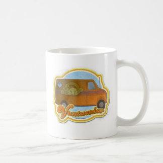 Groovy Vantacular Seventies Van Basic White Mug