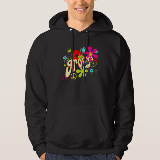Groovy Vibe 70's Style Hooded Pullovers