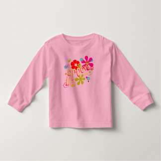 Groovy Vibe 70's Style Toddler T-Shirt