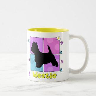 Groovy Westie Coffee Mugs