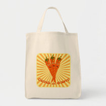 Groovy Yummy Carrots Tote Bag