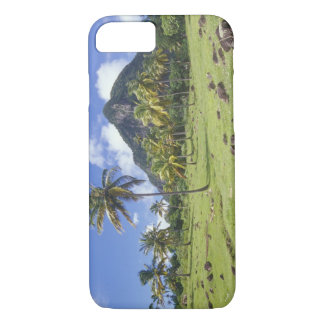 Gros Piton view along the historic trail in iPhone 8/7 Case