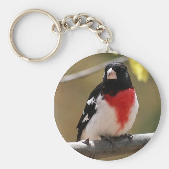 Grosbeak Keychain