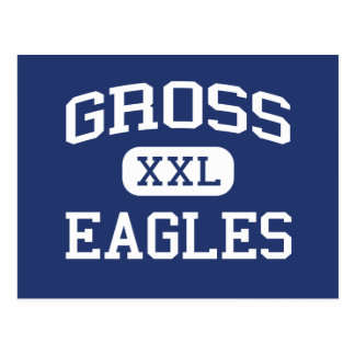 Gross - Eagles - Catholic - Bellevue Nebraska Postcard