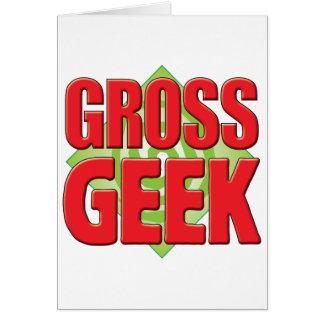 Gross Geek v2 Card