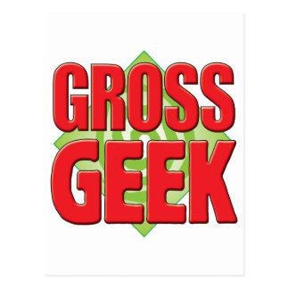 Gross Geek v2 Postcard