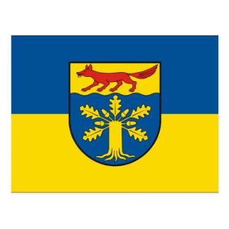 Gross Gievitz, Germany flag Postcards