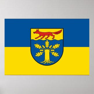 Gross Gievitz Germany flag Posters